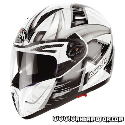 Airoh Pit One helmet Roller Grey XL