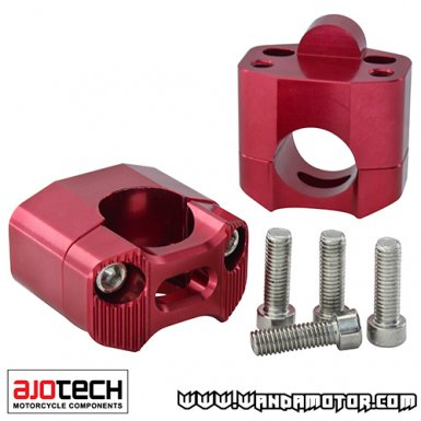 Ajotech Fatbar fasteners red