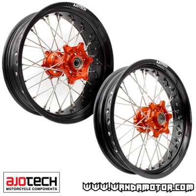 Supermotard wheels  3.50/5.00-17""