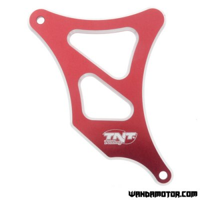 Front sprocket cover Minarelli AM6 alloy red
