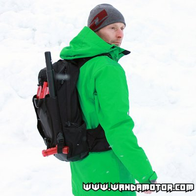 Backcountry backpack + shovel