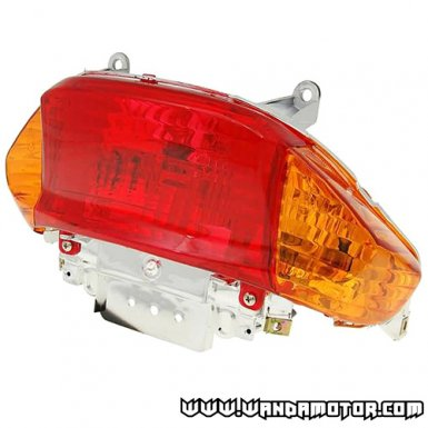 Tail light for Chinese scooters, orange blinkers