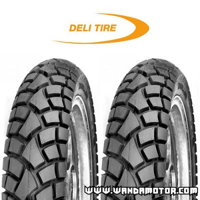 Tire bundle Deli Street Enduro SB117 17""