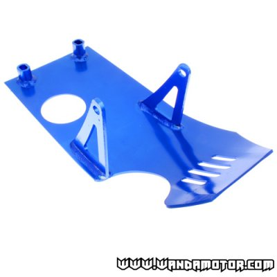 Skid plate CRF50 / Z50 blue