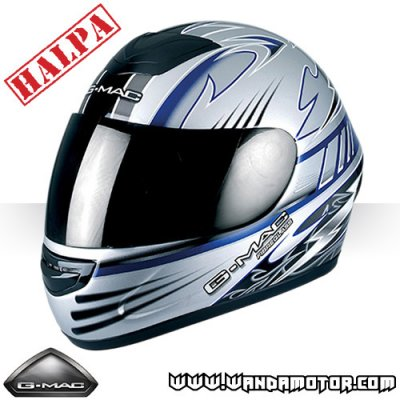 G-Mac Ballistic MOPED/MC-helmet blue M