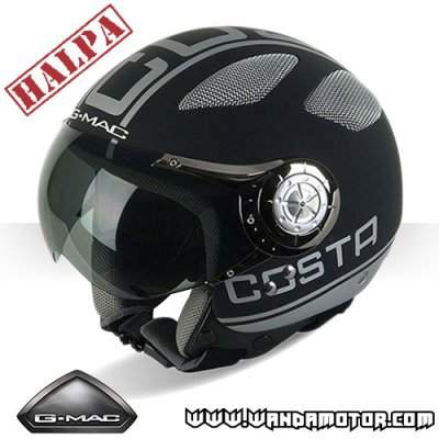G-Mac costa helmet matte black XL