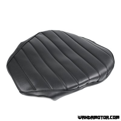 Seat cover Monkey black with rubber band and with padding
