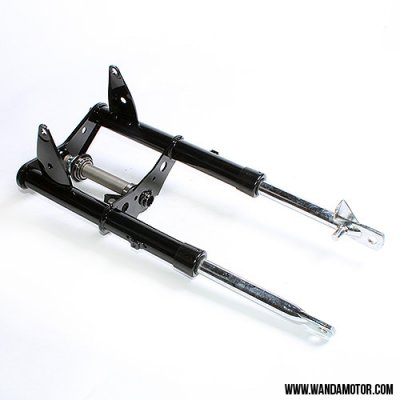 Front fork assy, drum