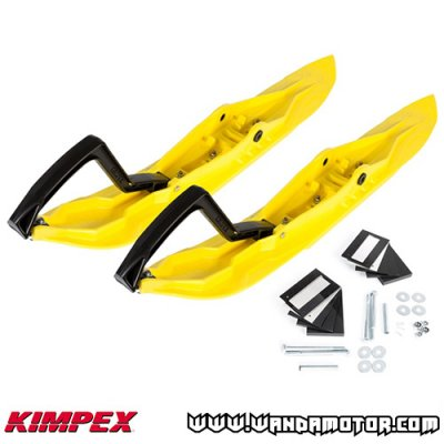 Ski pair Kimpex Rush yellow