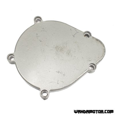 Clutch cover for bicycle conversion engine
