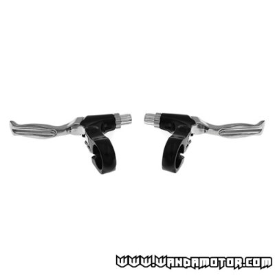 Brake lever pair pocket bike