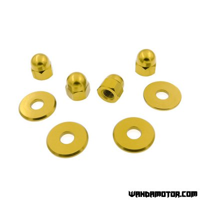 Shock absorber nuts Monkey gold