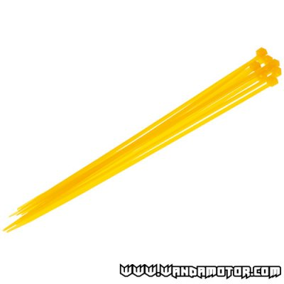 Colored cable tie 200x3.5 yellow 10pcs