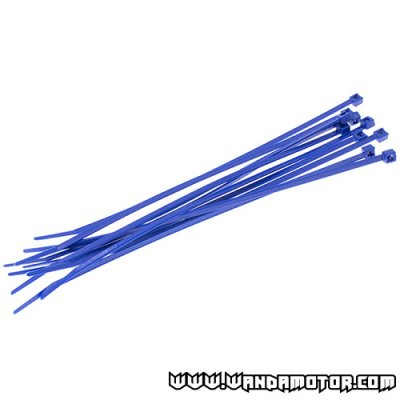 Colored cable tie 200 x 4.8 blue 10pcs