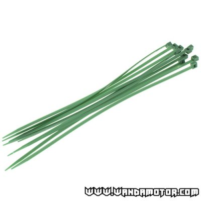 Colored cable tie 200x3.5 green 10pcs