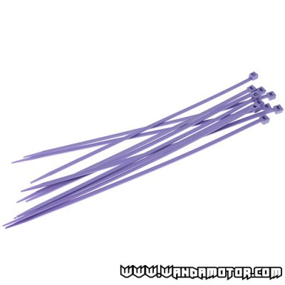Colored cable tie 200x3.5 purple 10pcs