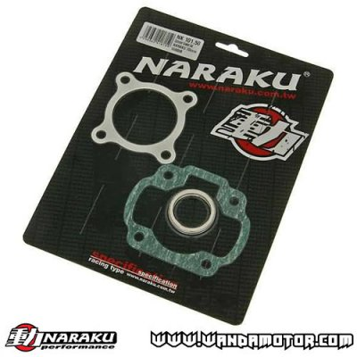 Gasket kit top end Naraku China scooters 2T 70cc