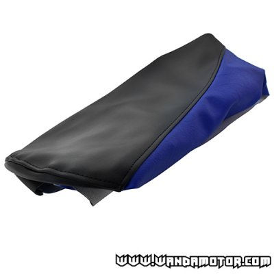 Seat cover Derbi Senda '00-> blue/black