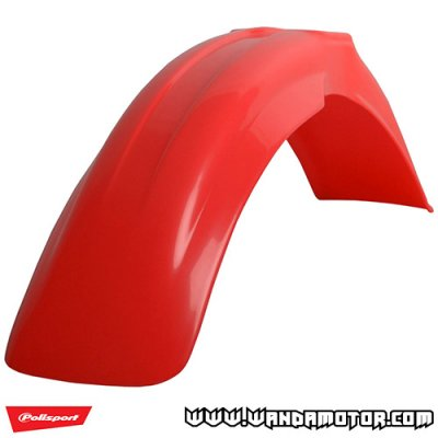 Front fender Polisport Honda CR125R/CRF250R '04-08 red