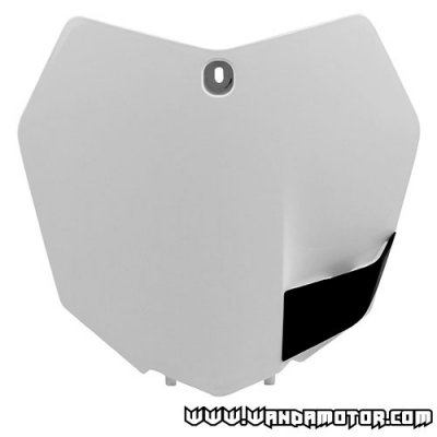 Front number plate Polisport SX/SX-F '13-> white