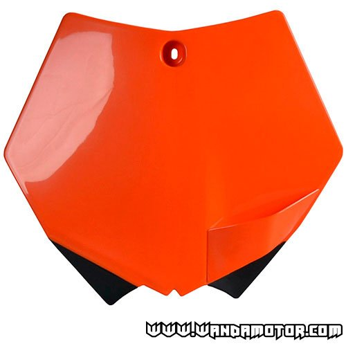 Front number plate Polisport SX 07-> orange