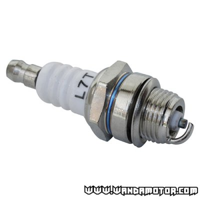 Spark plug bicycle engine