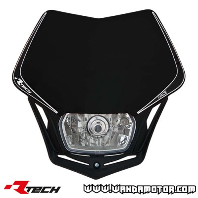 Headlight mask Racetech V-Face black