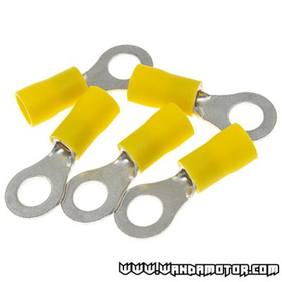 O-plug 8.4mm yellow 5pcs