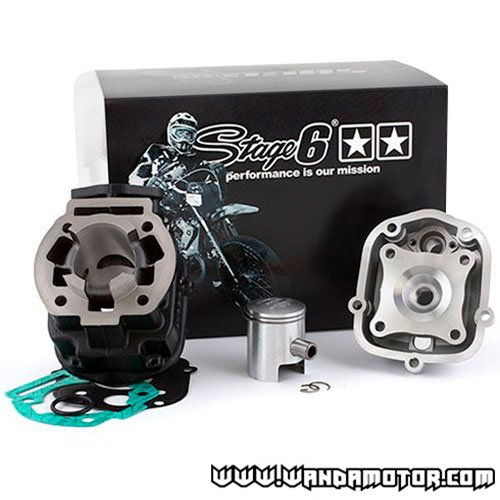 Cylinder kit Stage6 Derbi D50B0 \'06-> 50cc