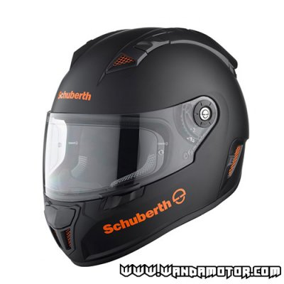 Schuberth SR1 helmet Stealth orange XL
