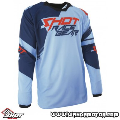 Shot Contact Claw jersey blue-red 2XL