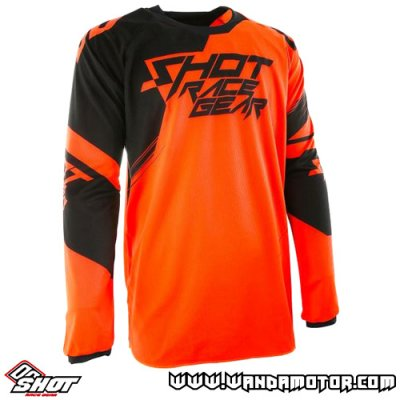 Shot Contact Claw jersey neon orange 2XL