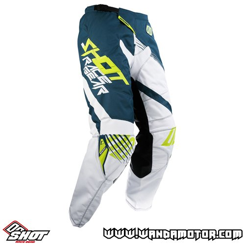 Shot Contact Claw pant yellow white 34