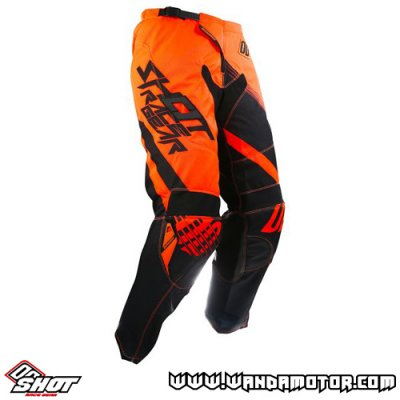 Shot Contact Claw pant neon orange 32