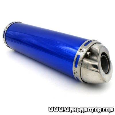 SlipRace silencer blue 125cc