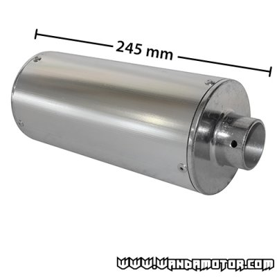 SlipRace Chrome 245/32 mm muffler