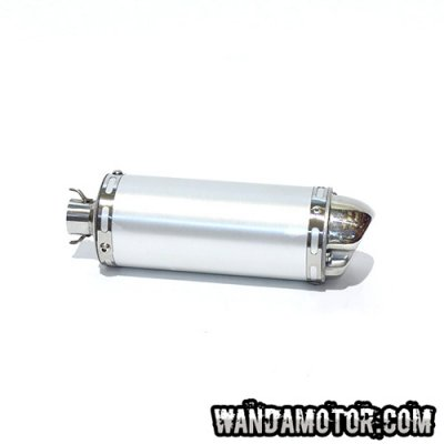 SlipRace Blunt Mini silencer silver
