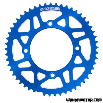 Rear sprocket Stage6 Beta RR 53h blue