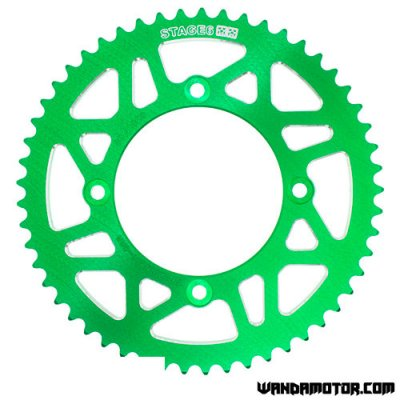 Rear sprocket Stage6 Beta RR 53h green