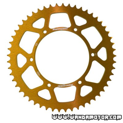 Supersprox rear sprocket Ø108mm 53t gold