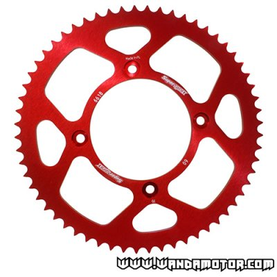 Supersprox rear sprocket Beta RR 50t red