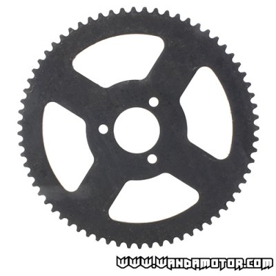 Rear sprocket pocket bike 25H