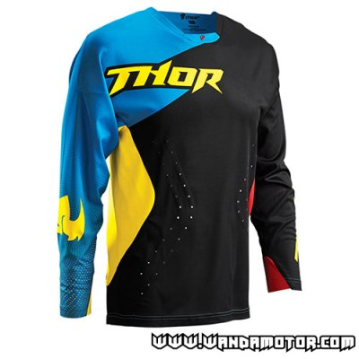 Thor Core Air S16 jersey black/multicolor L