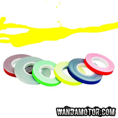 Rim tape 7mm x 6m yellow