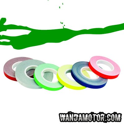 Rim tape 7mm x 6m green
