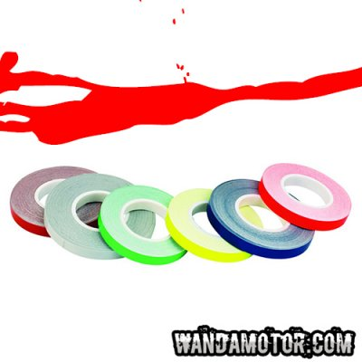 Rim tape 7mm x 6m red