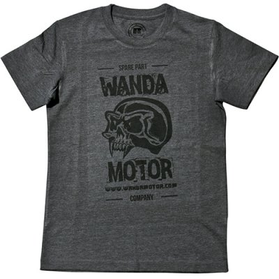 Wandamotor t-shirt grey L